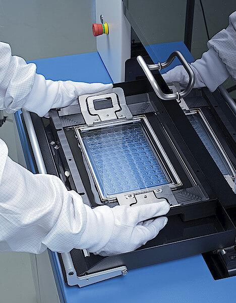 OptiSpheric® IOL PRO 2 with in-situ tray
