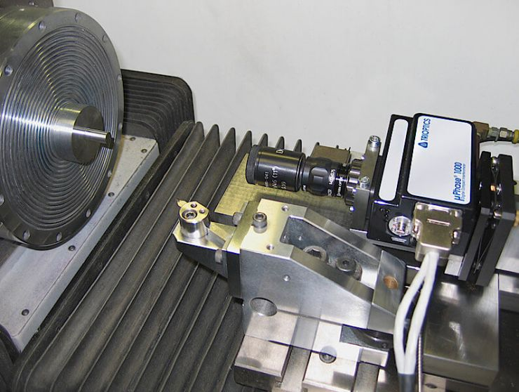 µPhase® integrated into a turning machine